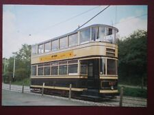 POSTCARD SHEFFIELD CORPORATION TRAM NO 189 - TOTALLY ENCLOSED TRAM