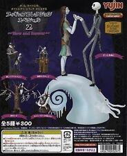 Yujin Nightmare before Christmas Now and Forever Set of 5 Gashapon Figure -RARE