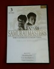 Samurai Masters The Ultimate Collection Vol 1 DVD 3 Movies The Last Warriors