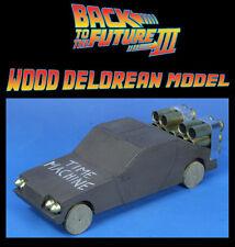 Back to the Future Wood Delorean Model Prop