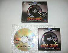 Mortal Kombat Sega Mega CD PAL MegaCD RARE MINT