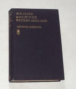 SUN, CLOUD & SNOW IN THE WESTERN HIGHLANDS: Mull / Arran / Scotland / Glens 1933