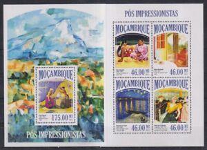 L447. Mozambique - MNH - Art - Paintings - Post-Impressionism - 2013