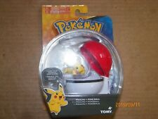 POKEMON CLIP AND CARRY PIKACHU WITH POKE BALL - NEW