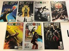 IRON FIST # 1 2 3 4 5 6 7 Bande dessinée Run Ensemble #1-7 MARVEL 2017