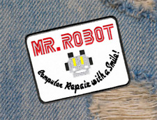 Cool Mr Robot TV Patch Badge for Shirt 4 inch x 3 inch Applique
