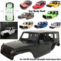 313MM Metal Frame Car Body Shell for 1/10 SCX10 90046 TRX-4 Jeep Wrangler RC Car
