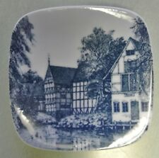 Den Gamle By Aarhus Made in Denmark Small Square Hanging Plate