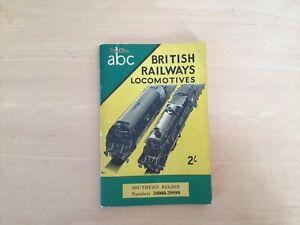IAN ALLAN ABC - BRITISH RAIL LOCOMOTIVES-SOUTHERN REGION 1953/4