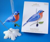 New Hallmark Eastern Bluebird The Beauty Of Birds # 6 in Series Ornament 2010