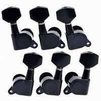 3L3R Acoustic Guitar Tuning Pegs Tuners Keys Machine Heads Guitar Parts Black