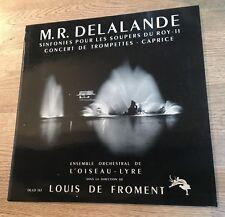 PAS DE DISQUE SEULEMENT POCHETTE Delalande Louis de Froment Soupers du Roy