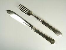 MAPPIN & WEBB Cutlery - PEMBURY Pattern - Fish Knife & Fish Fork