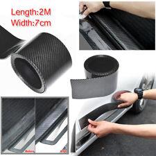 2M Carbon Fiber Moulding Trim Strip Car Door Edge Scratch Guard Protector Cover