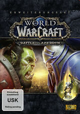 PC Computer Spiel WOW World of Warcraft - Battle for of Azeroth NEU NEW