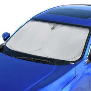 ACDelco Premium Pop Open Windshield Sunshade Visor UV Protection Car Truck SUV
