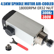 4500w Spindle Motor 95a Air Cooled Cnc Router Mill Machine Engraving Grinding