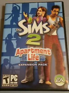 The Sims 2: Apartment Life Expansion Pack FREE SHIPPING
