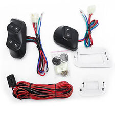 Electric Power Window Switch with Holder Wiring Harness for 2 Door 12V/24V Car