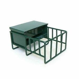 1/16 Little Buster Toys Metal Green Calf Creep Feeder Farm Toys 500287
