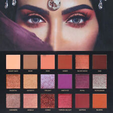 18 Colors Glitter Eyes Pressed Glitter Eyeshadow Pigment Palette Make Up