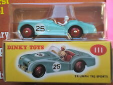 CLASSIC DINKY TOYS COLLECTION NO 1.TRIUMPH TR2 SPORTS.NEW WITH WELCOME PACK 2017