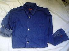 Signum Jeansfarbenes Herrenhemd m. Hochkrempelärmel ,Gr. S, 3x getragen,sehr gut