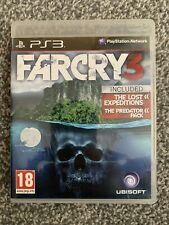 Far Cry 3. With Predator Pack & The Lost Expeditions. Free Postage!