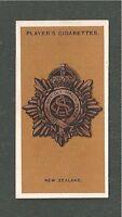 NEW ZEALAND ARMY SERVICE CORPS NZASC ANZAC Army Badge WW1 original 1917 card