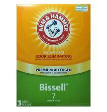 Arm & Hammer Bissell 7 Vacuum Bags 9 Total Bags 62615G Odor Eliminating