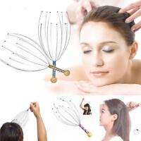Octopus Scalp Head Massager Scratcher Pain Relief Pressure Relaxer Health Gadget