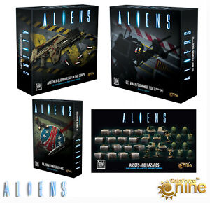 Aliens Board Game Another Glorious Day In The Corps Gale Force Nine UK