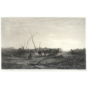 Print - J.M.W Turner: Frosty Morning - Appleton, NY 1880's - Cert: p33
