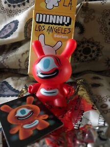 Kidrobot Dunny LA Series Tim Biskup Dunny Mint Mini Acid Head