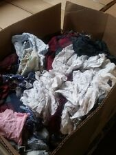 Box of Colored Flannel Rags (25 LB)