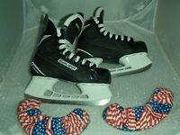 Bauer Supreme 140 Hockey Ice Skates Size 3R