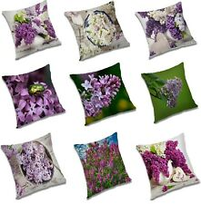 Pillow Case Flowers Cushion Cover Waist Throw Pillow Case Square Home Sofa Decor