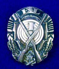 Estonian Estonia Pre WW2 1920-30's Marksman Medal Order Badge Pin