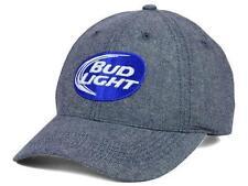 New Licensed Budweiser Beer Bud Light Beer Man Embroidered 3D  Adjustable Hat BA