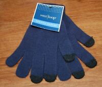 West Loop Blue Texting Gloves Stretch One Size Fits Most