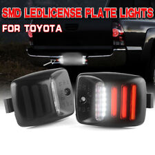 2x RED SMD Tube Full LED License Plate Light For 2005-2015 Toyota Tacoma Tundra