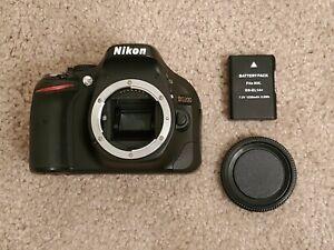 Nikon D5200 24.1MP Digital SLR Camera w/ Battery. GREAT Beginner camera!