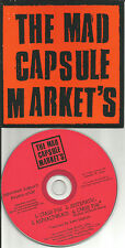 MAD CAPSULE MARKETS w/ ATARI TEENAGE RIOT REMIX 4Trx PROMO Radio DJ CD single