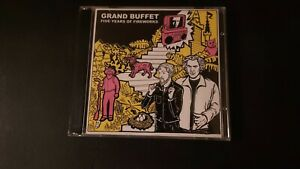 Used GRAND BUFFET 'Five Years of Fireworks' 2x CD FIG 003 Hip Hop Rock 2005