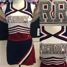 "Crystals Real Cheerleading Uniform Perry 32""26"" Shine"