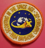 Boy Scouts Patch Scouting In The Space Age 1984 Camporee Bayshore JSC