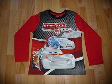 """""""CARS"""" Pulli Langarmshirt LA-Shirt Shirt - Gr. 116"""