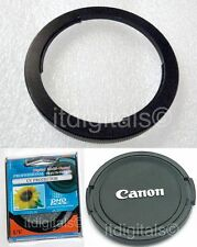 67mm Filter Adapter + UV +  Lens Cap For Canon Powershot SX10 IS SX10is Kit Set