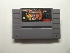 SUPER WRESTLEMANIA - SNES GAME ONLY *CLEANED AND TESTED*