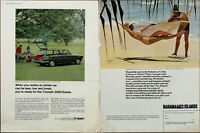 Triumph 2000 Estate Car / Bahamas Ministry of Tourism Bahama Islands Advert 1966